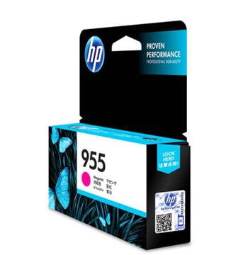 图片 惠普(HP) 955原装红色墨盒