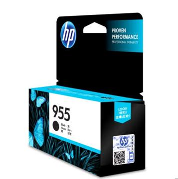图片 惠普(HP) 955原装 黑色墨盒