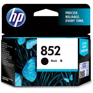 图片 惠普852原装墨盒480页(适用于officejet100 L411a打印机墨盒)(黑色)