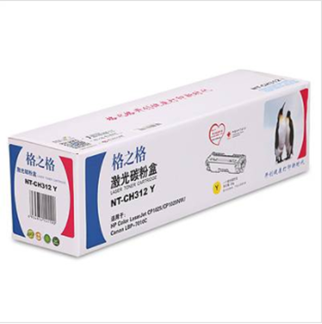 图片 格之格NT-CH312Y碳粉盒1000页(适用于 HP1025)黄色