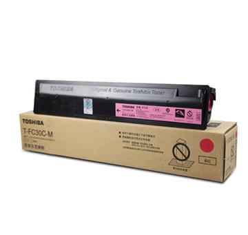 图片 东芝T-FC30C-M碳粉570g(红色墨粉盒)