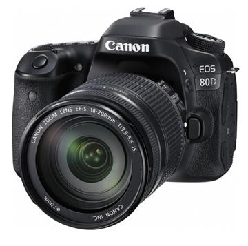 图片 佳能EOS 80D套机EF-S18-135MM F/3.5-5.6 IS USM  一年保修